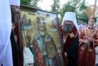 В Киеве возле иконы «Николай Утешитель» происходят исцеления